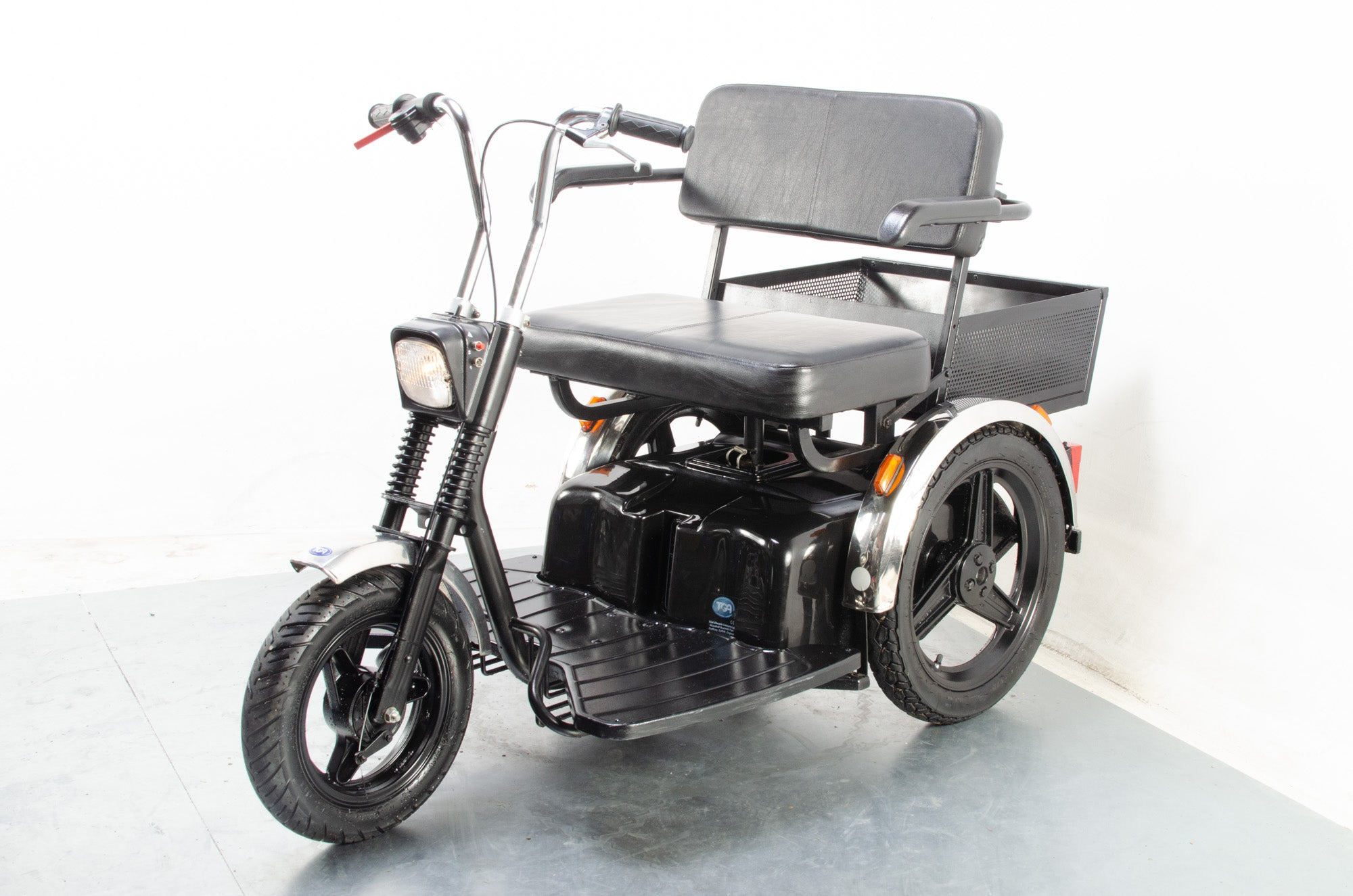 TGA Supersport Twin Seat Tandem Electric Mobility Scooter Trike Road Legal