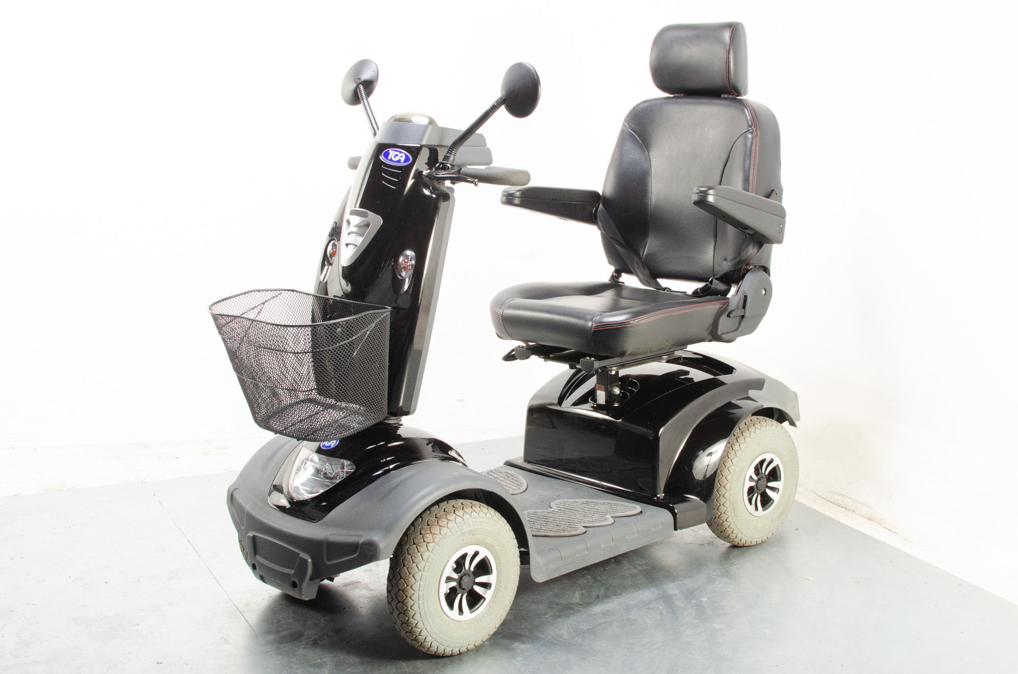 TGA Mystere Large Comfy Electric Mobility Scooter 8mph Class 3 Black