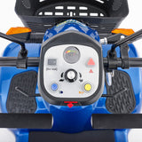 CareCo Titan 8mph Electric Mobility Road Scooter Blue