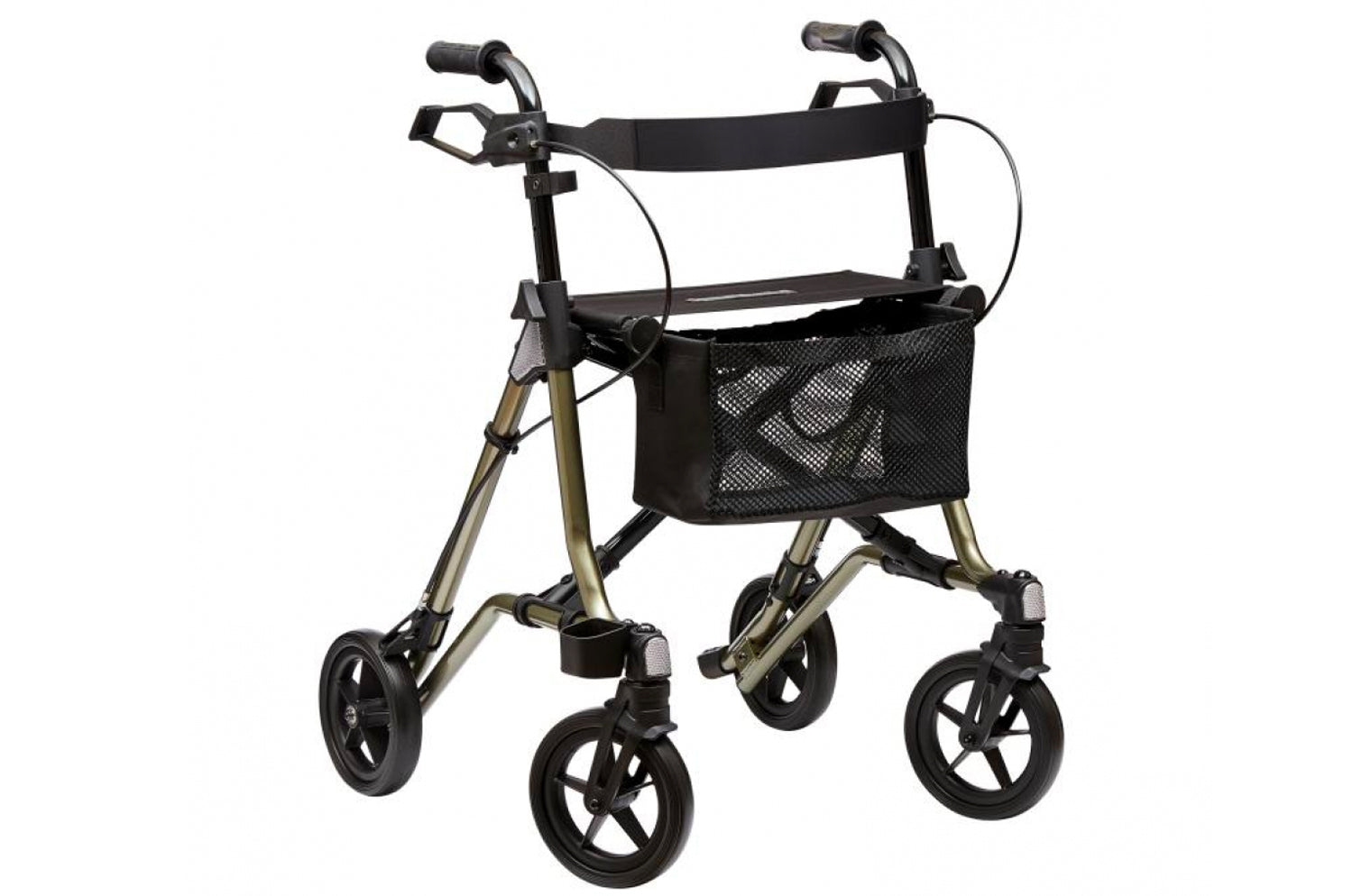 Dietz Taima M-GT Lightweight Aluminium Rollator Foldable with Back Strap and Bag
