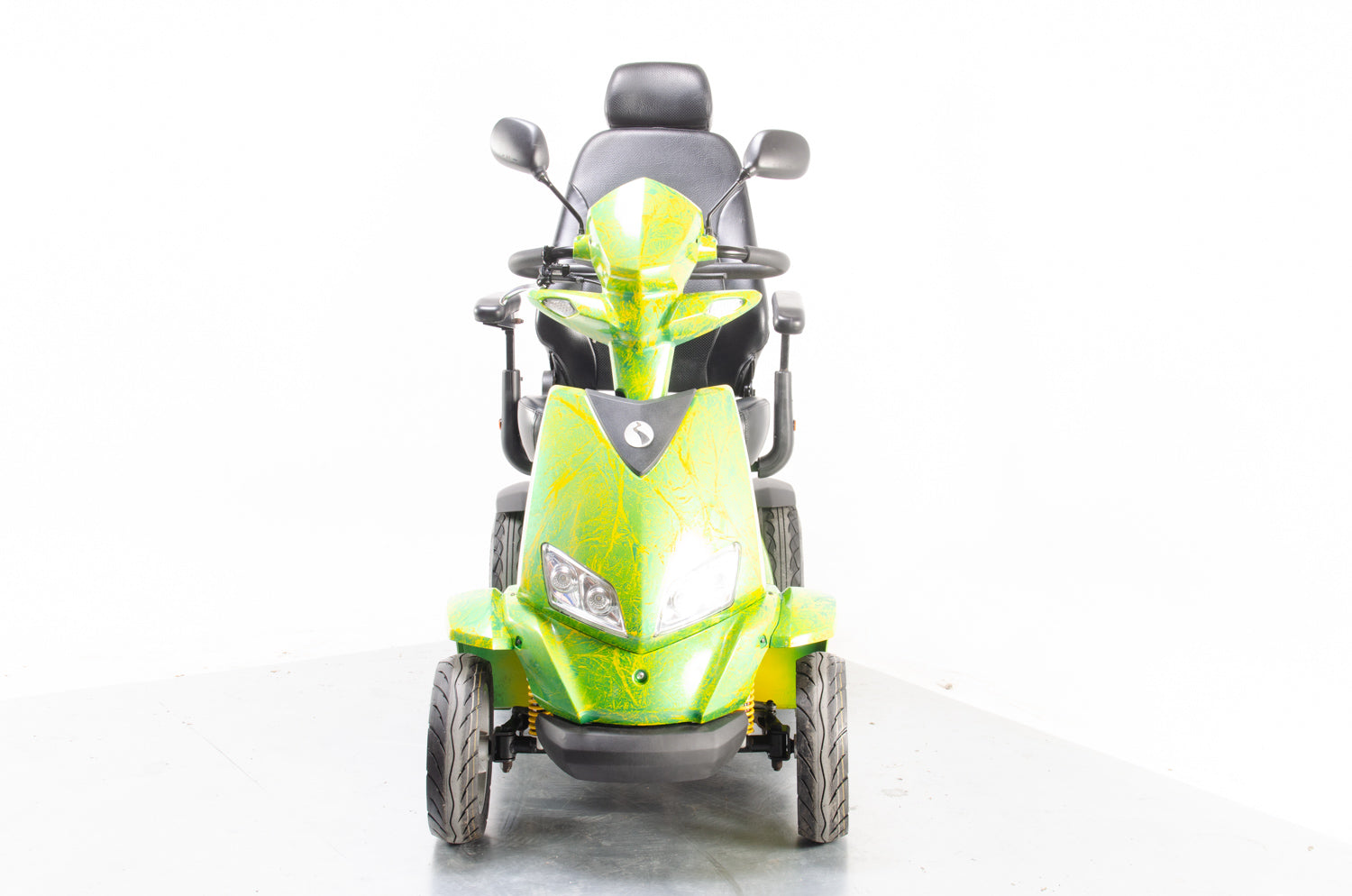 2016 Rascal Vision from Electric Mobility 8mph Large Custom Mobility Scooter in Green