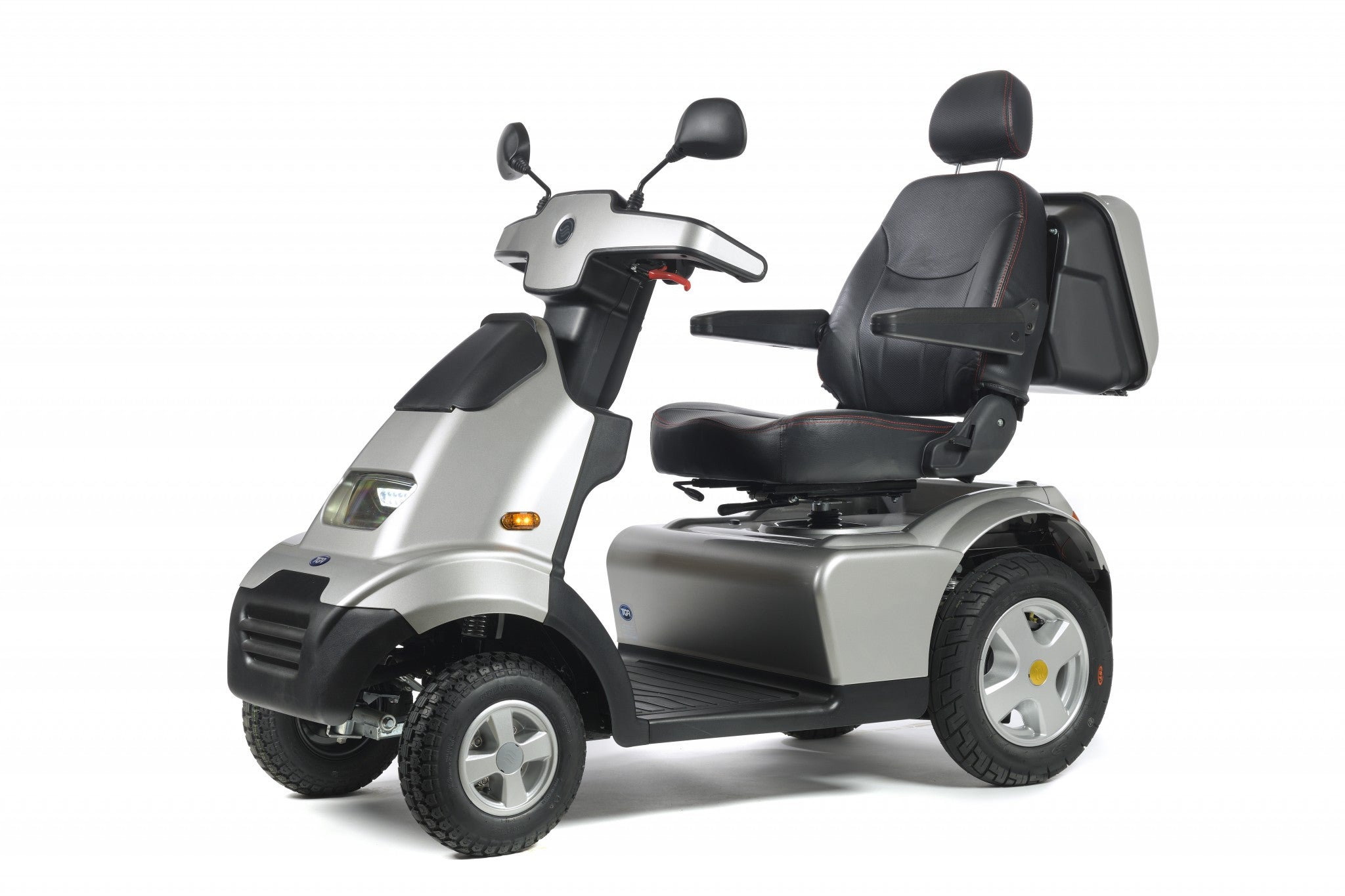 New TGA Breeze S4 GT 8mph Large All Terrain Wide Arch Mobility Scooter