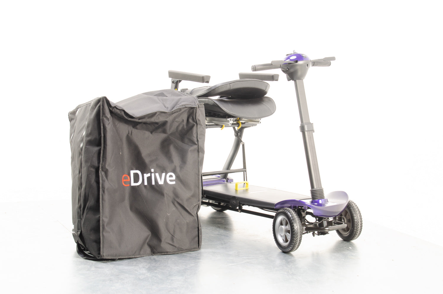 New Motion Healthcare eDrive 4mph Electric Folding Mobility Scooter