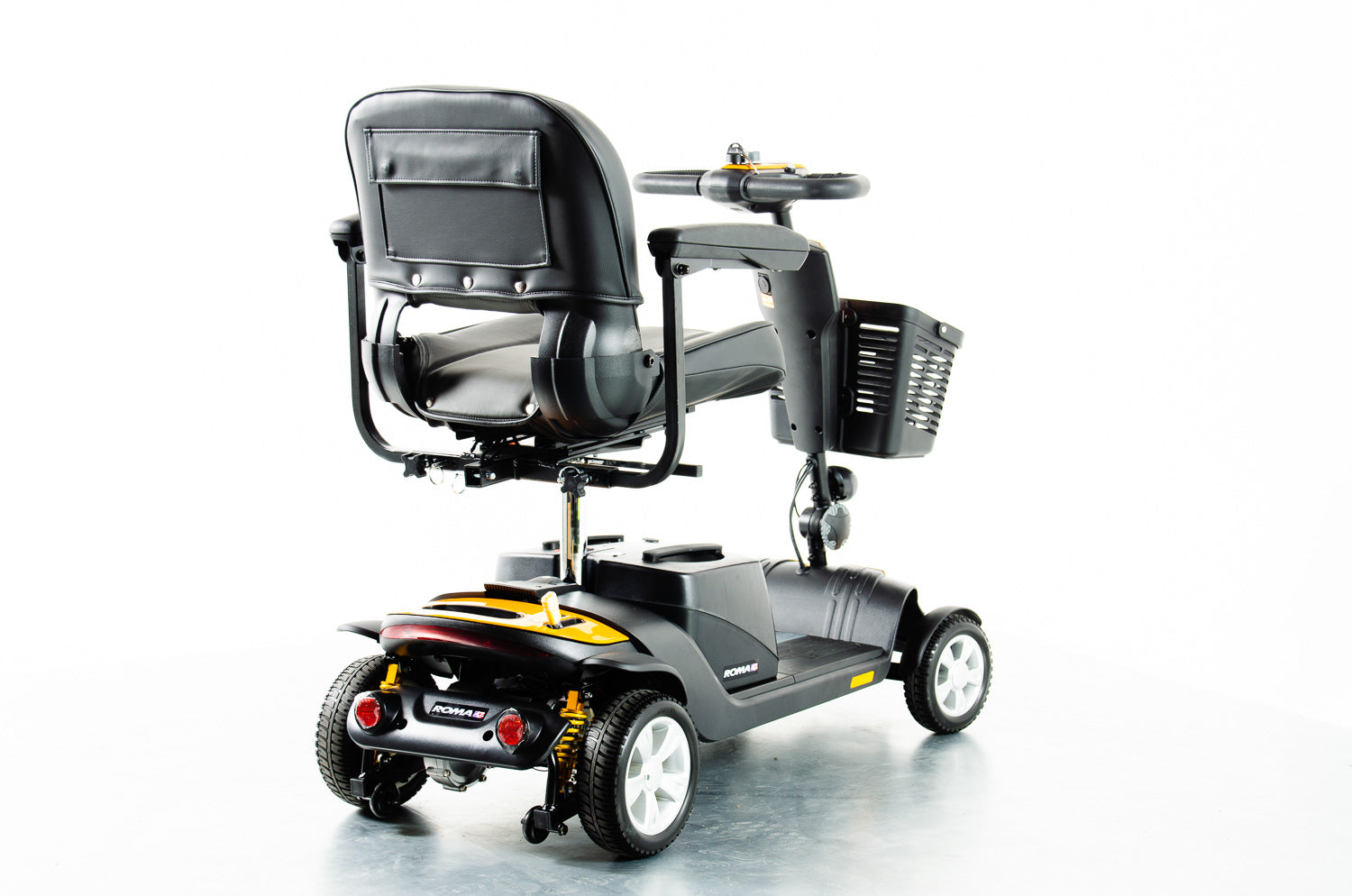 New Roma Denver Plus 4mph Transportable Mobility Boot Scooter