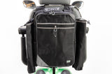 MyWren Mobility Scooter Seat Bag with Crutch - Walking Stick Holder - Better than Simplantex!