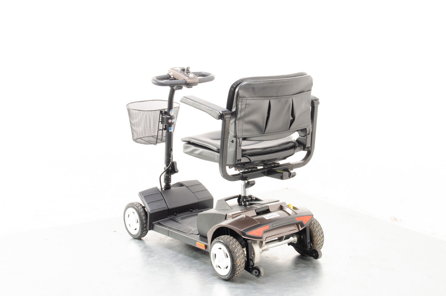 2018 Van Os Travelux Tiempo 4mph Transportable Mobility Boot Scooter in Brown