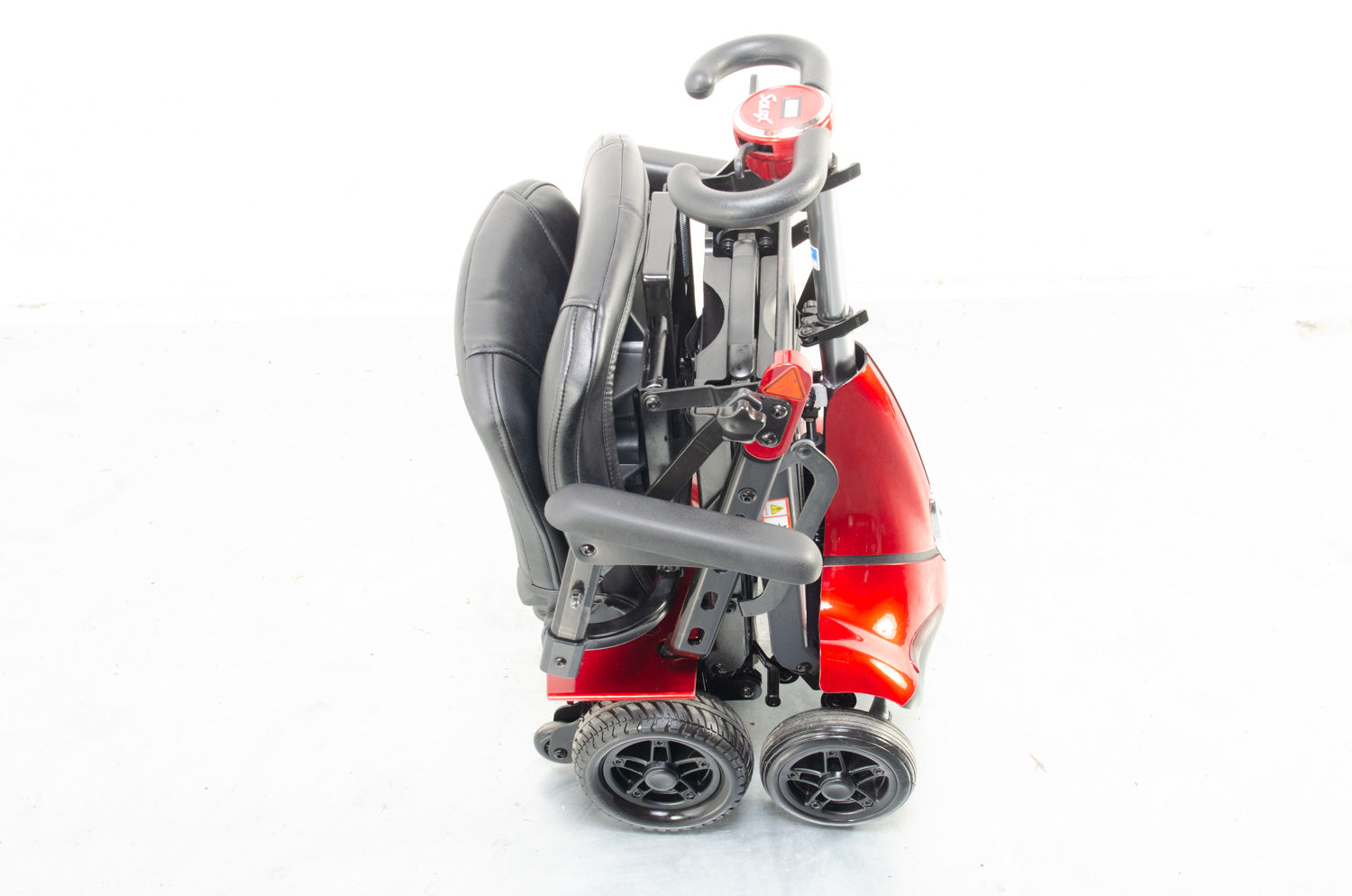 Monarch Mobie 4mph Folding Mobility Scooter Lithium Battery in Red