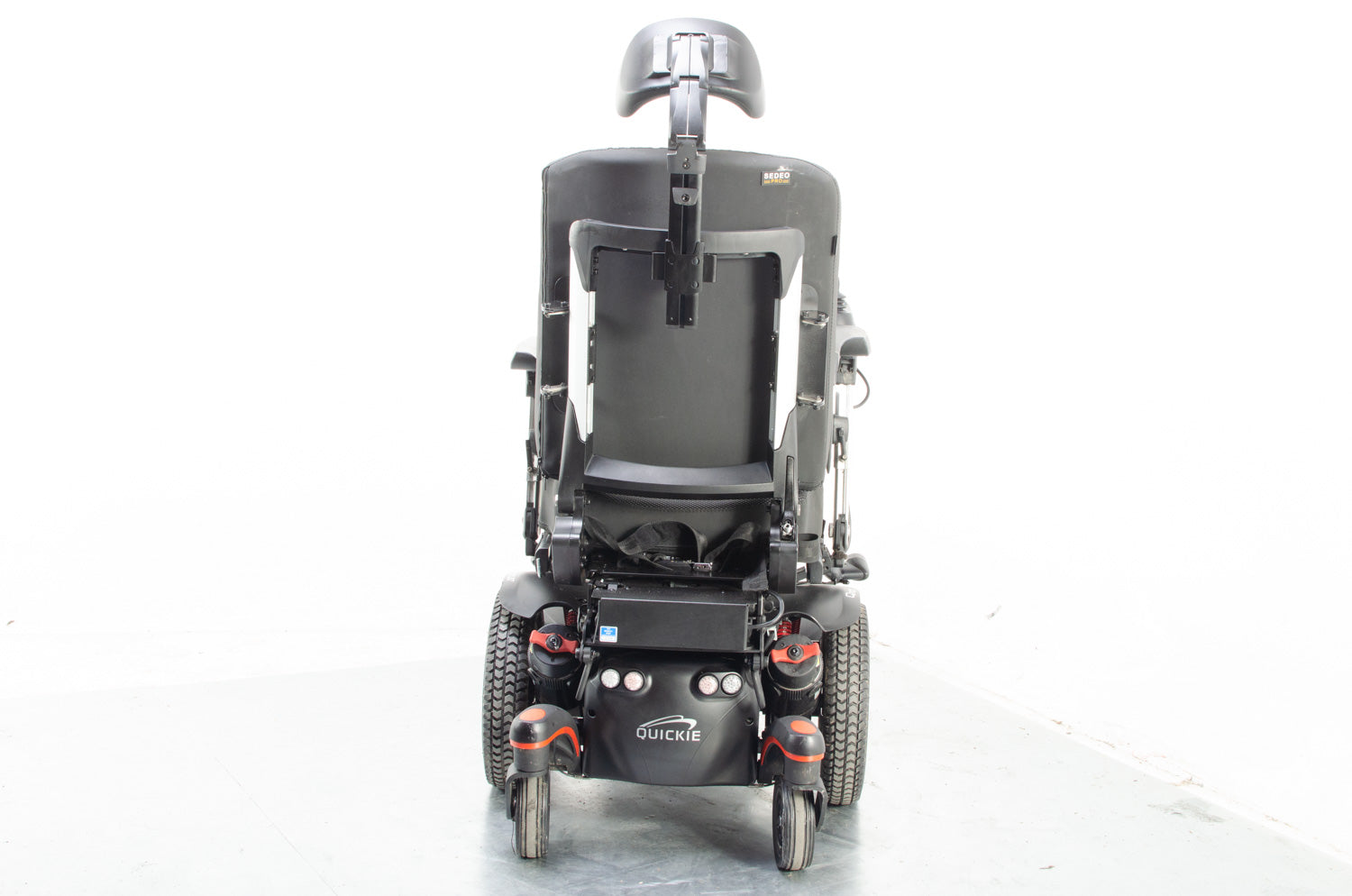 Quickie Q700 M SEDEO PRO 6mph Powered Wheelchair Electric Raiser Tilt Sunrise Medical Powerchair in Black