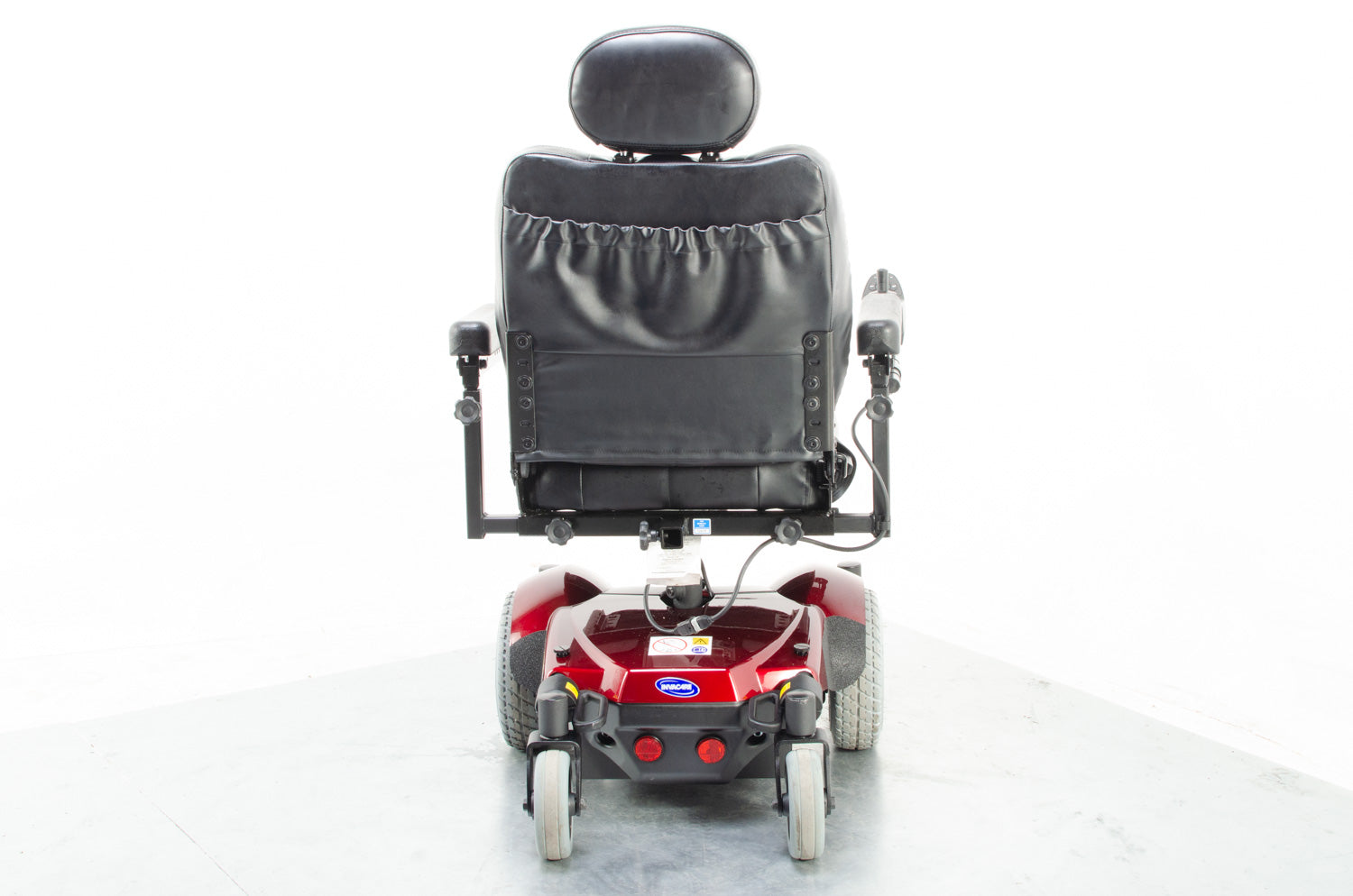 2019 Invacare Pronto M41 4mph Electric Wheelchair Powerchair in Red 19""