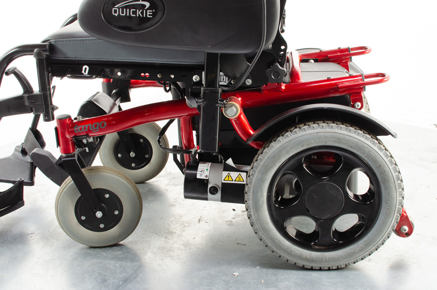 Quickie Tango from Sunrise Medical Electric Wheelchair with Power Tilt