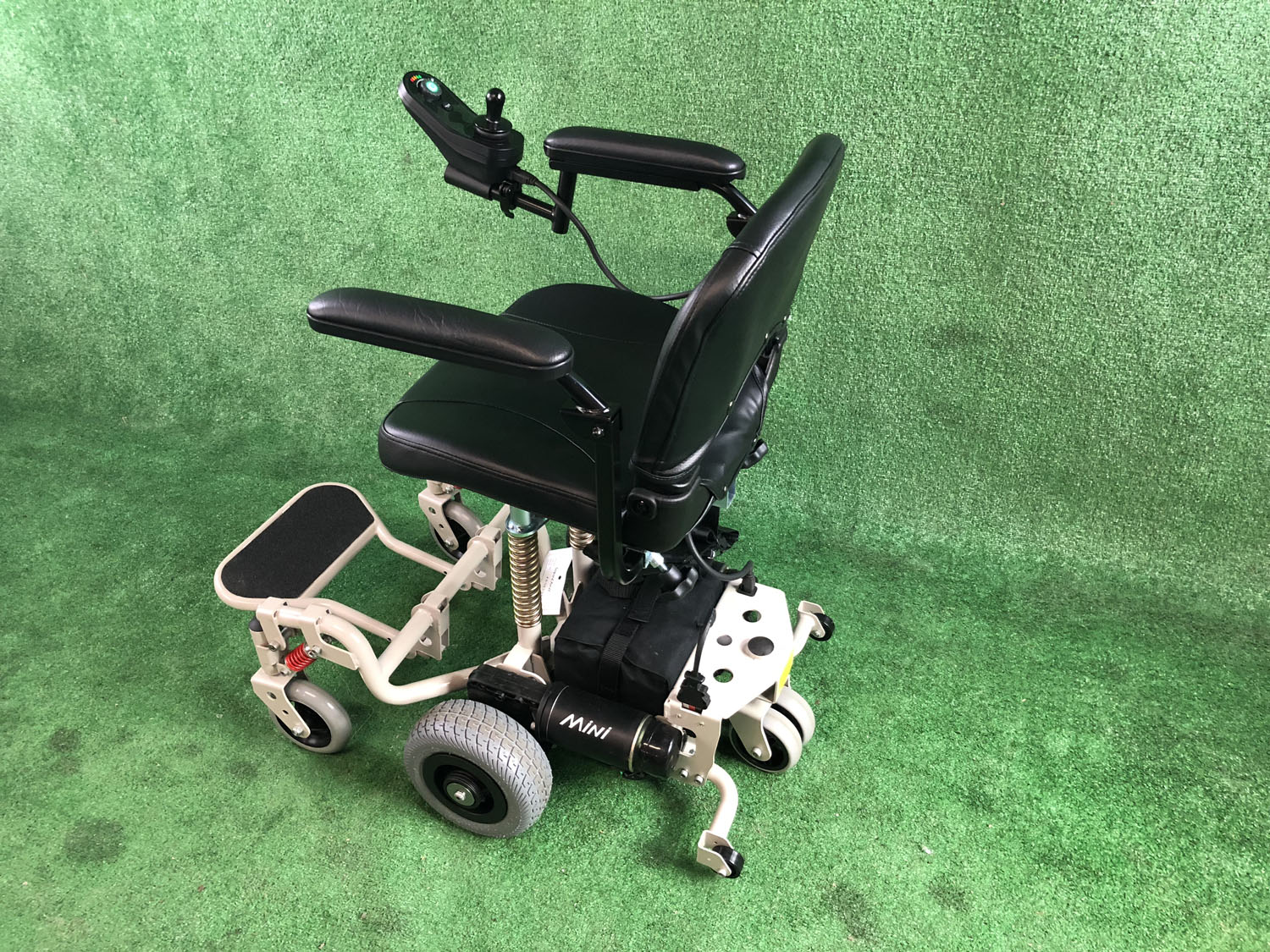 New SupaChair Mini Lightweight Transportable Powerchair with Suspension