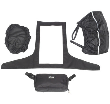 Mobility Scooter Tiller Accessory Pack Drive DeVilbiss Rain Cover