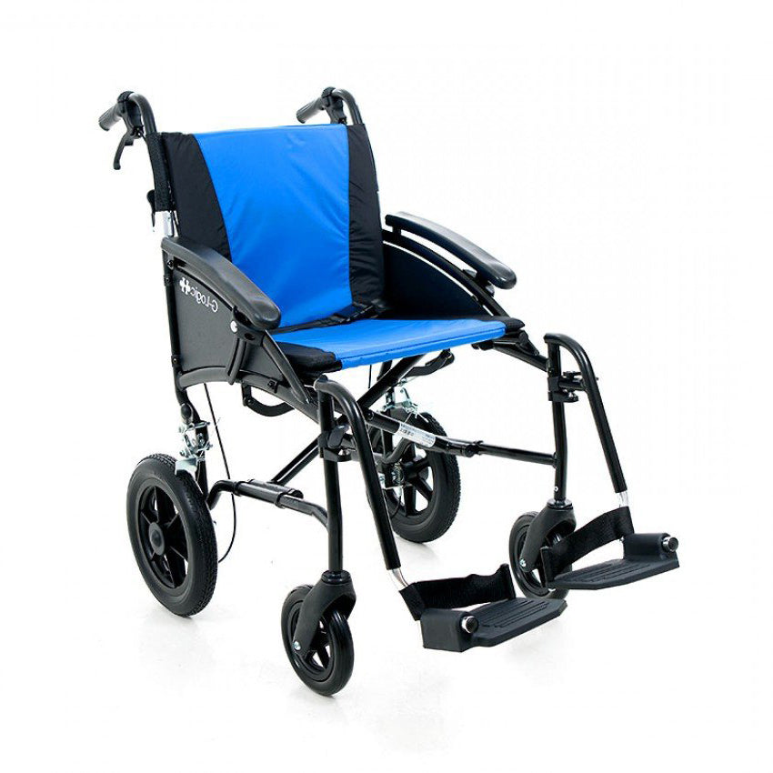 "Excel G-Logic 20"" Manual Transit Wheelchair from Van Os Medical"