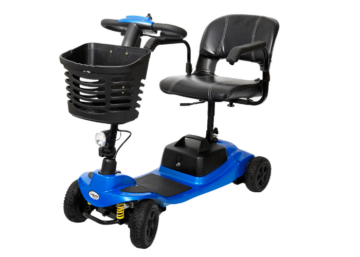 New One Rehab Liberty Vogue 4mph Mobility Boot Scooter with Suspension