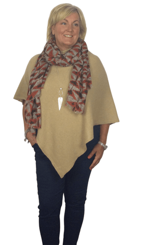 Load image into Gallery viewer, EVE CASHMERE MIX PONCHO