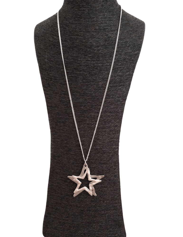 NALA HOLLOW STARS NECKLACE