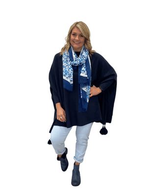 Load image into Gallery viewer, TEAGAN  OVERSIZED TASSEL JUMPER