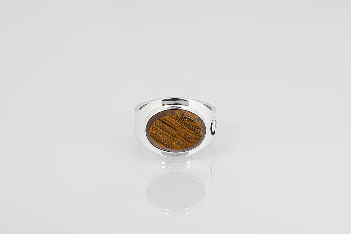 OVAL TIGER EYE - Garcjewelry