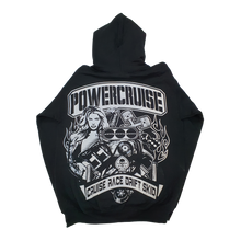 Load image into Gallery viewer, Black Powercruise YOUTH Hoody CRUISE RACE DRIFT SKID