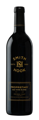 RED BLEND SMITH & HOOK, CENTRAL COAST, USA. (MERLOT, MALBEC, PETITE SIRAH, CAB.) 2015