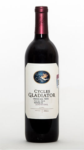 ZINFANDEL CYCLES GLADIATOR, LODI VALLEY 2012