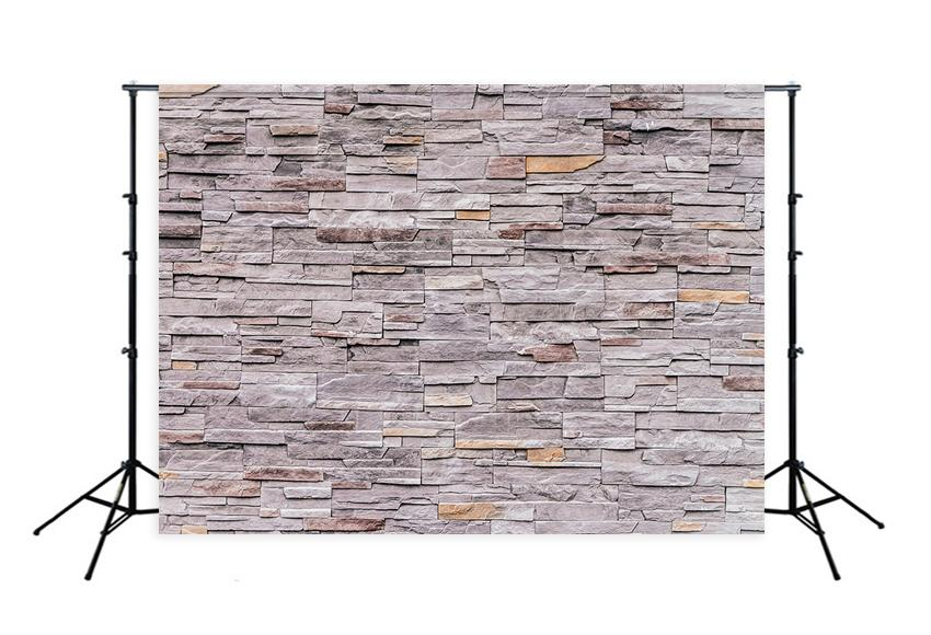 Brick Stone Wall Close Up Backdrop for Photo Booth D135