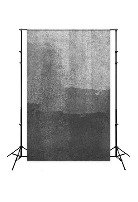 Abstract Black Grey Texture Backdrop for Photo Booth D152