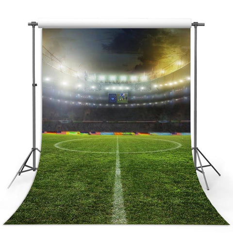 Football Field Backdrops Sports Photography Backdrops Soccer Stadium Background