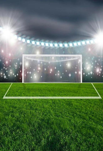 Football Field Soccer Green Sports Photography Backdrops G-306