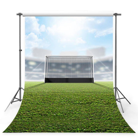 Football Goal Net  Field Decorations Photography Backdrops G-381