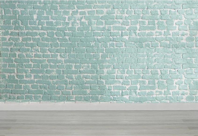 Brick Wall Backdrops Photography Backgrounds Green Backdrops G-464