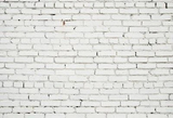 White Brick Wall  Backdrop for Photography G-55