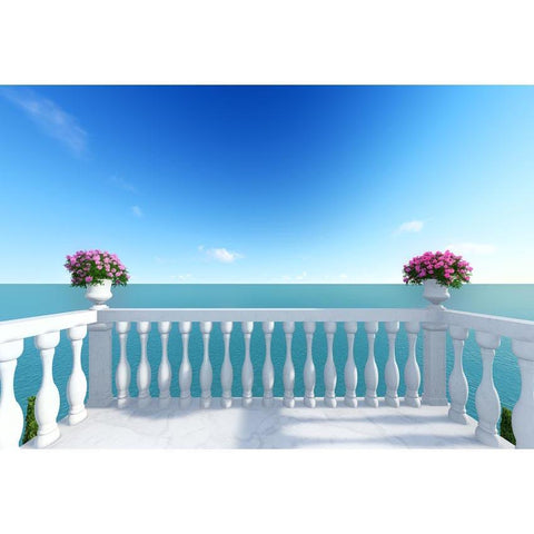 Beaches Wedding Summer Holiday Backdrops Photography Background G-586
