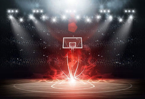 Basketball Stadium Sport Party Photography Backdrop GA-24