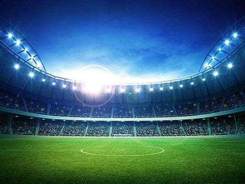 Stadium Bokeh Lights Sports Night Photography Backdrop GA-26
