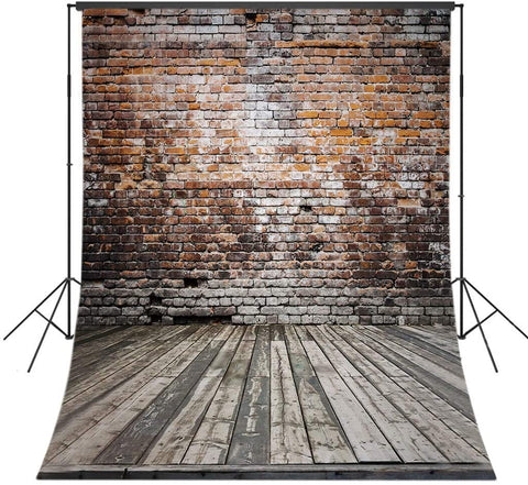 Vintage  Grunge Brick Wall Backdrop UK for Photography GAA-50