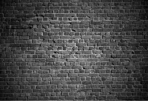 Black Vintage Red Brick Wall Photo Studio Backdrop UK GB-54