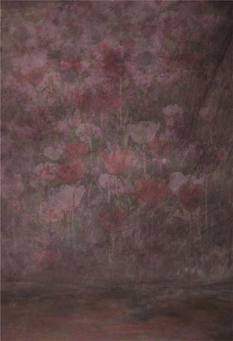 Abstract Flowers Texture Art Backdrop for Photographers GC-161