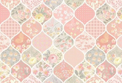 Floral backdrop UK Creative backdrop UK Newborn for Photography LV-1191