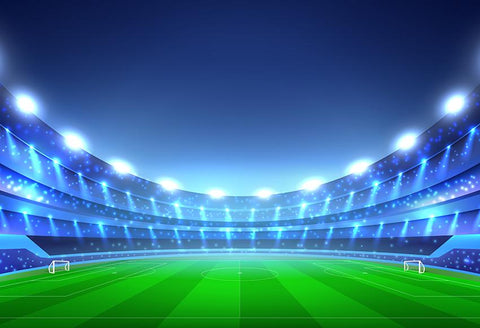 Soccer Stadium  Sports Backdrop Photography Backdrop M030