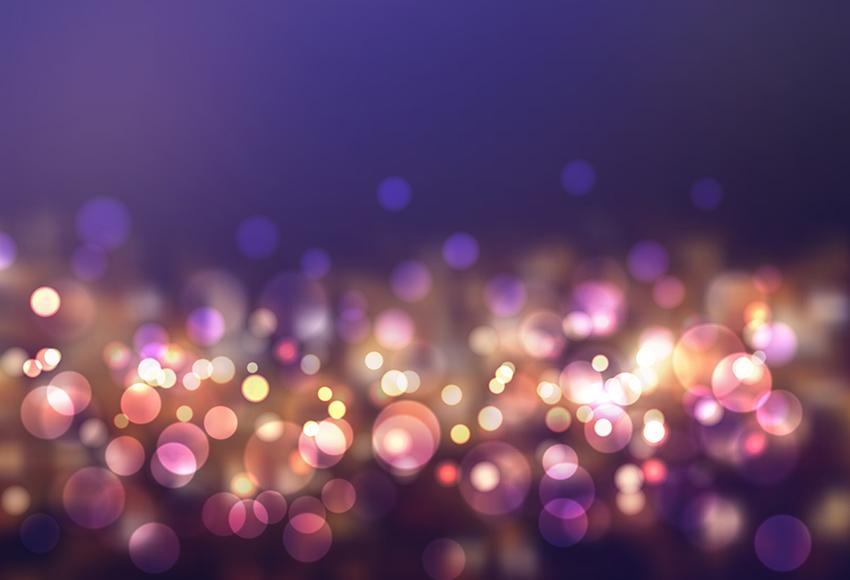 Beautiful Bokeh  Sparkle Photography Backdrop for Studio M107