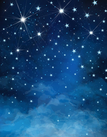 Night Sky Stars Photo Booth Backdrops DBD-19345
