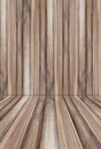 Brown Wood Backdrop for Photo Studio