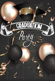 Graduation Party Senior Students Grads Party Prom Celebration Banner Photo Backdrop SH-264