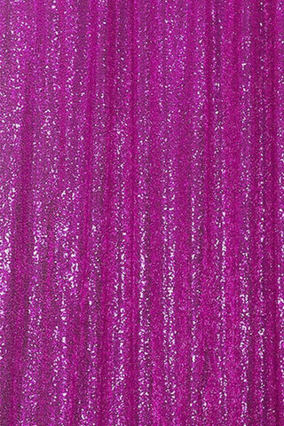 Rose Sequin Farbic Backdrop UK for Party Wedding Decoration D26