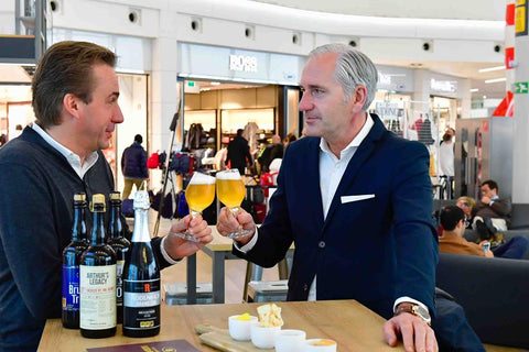 Best of Belgium Beer & Bites pops up at Brussels Airport