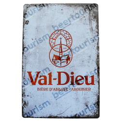 Val Dieu Vintage Look Metal Beer Sign