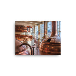 Brewing Hall - Beer Culture Canvas Print