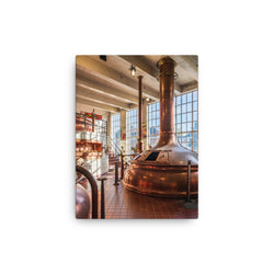 Brewing Hall - Belgian Beer Culture - Canvas Print