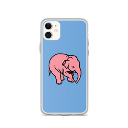 Delirium Tremens pink elephant iPhone case